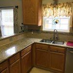Tile kitchen backsplash and flooring